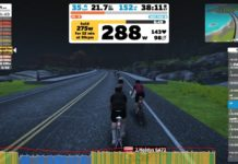 4wk FTP Booster semaine 1 sur Zwift